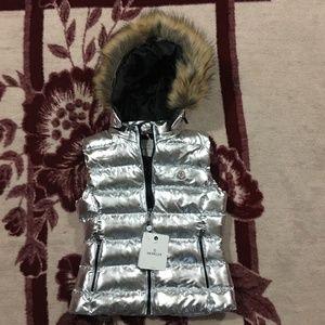 Moncler Women Silver Vest
